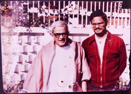 Arvindbhai Buch with JAYESH PARIKH